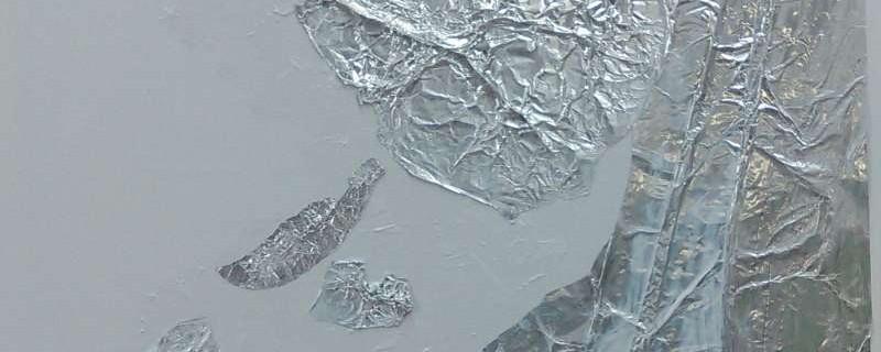 2.1 Ondergrond met medium gel en aluminiumfolie