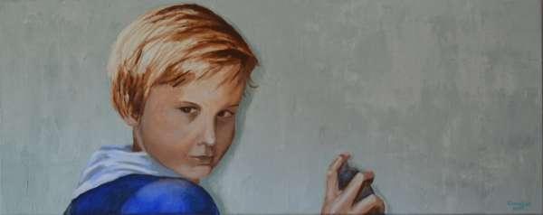 2007, Grafitti, 40x120, acrylverf, J. Comello