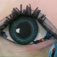 Sandra, oog